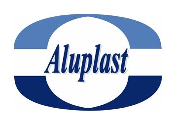 Logo Aluplast, lien téchécgargement catalogue